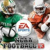 Cover for NCAA Football 13.