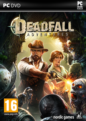 Cover for Deadfall Adventures.