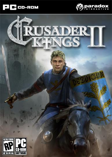 Cover for Crusader Kings II.