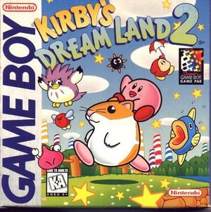 Cover for Kirby's Dream Land 2.