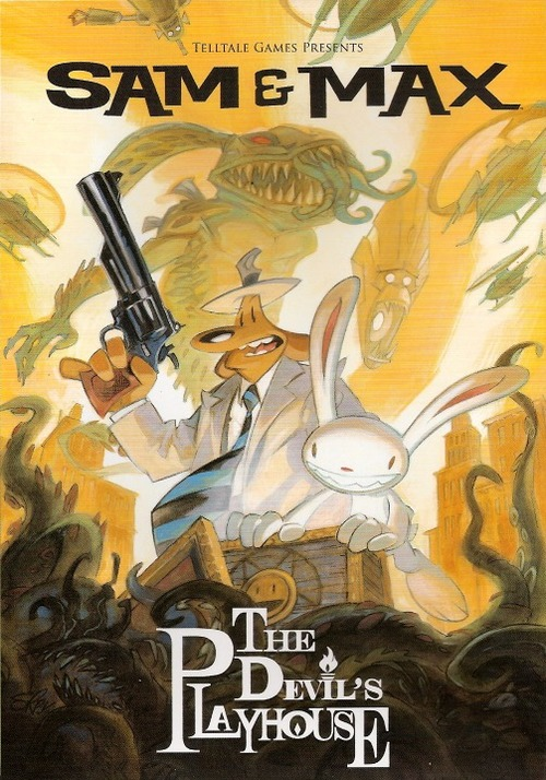 Cover for Sam & Max: The Devil's Playhouse.