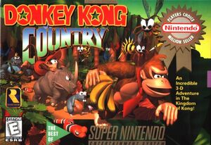 Cover for Donkey Kong Country.