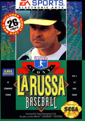 Cover for Tony La Russa Baseball.