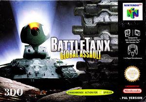 Cover for BattleTanx: Global Assault.