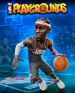 Cover for NBA Playgrounds.