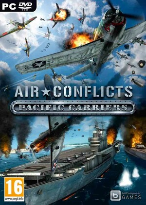 Cover for Air Conflicts: Pacific Carriers.