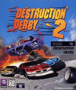 Cover for Destruction Derby 2.