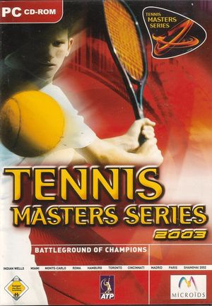 Cover for Tennis Masters Series 2003.