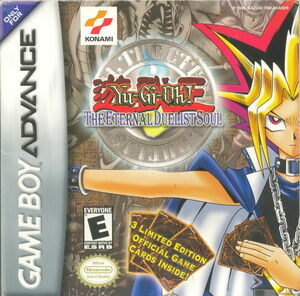 Cover for Yu-Gi-Oh! The Eternal Duelist Soul.