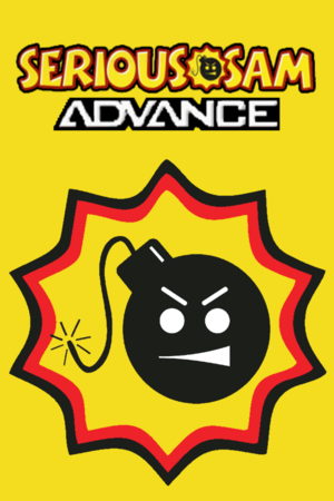 Cover for Serious Sam Advance.