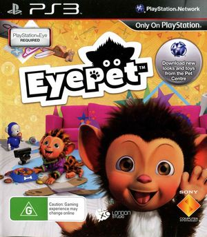 Cover for EyePet.