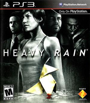 Cover for Heavy Rain.