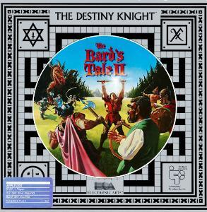 Cover for The Bard's Tale II: The Destiny Knight.