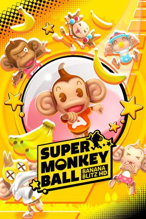 Cover for Super Monkey Ball: Banana Blitz HD.