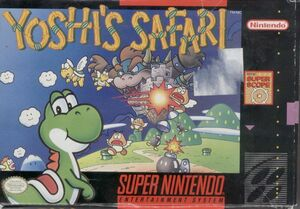 Cover for Yoshi's Safari.