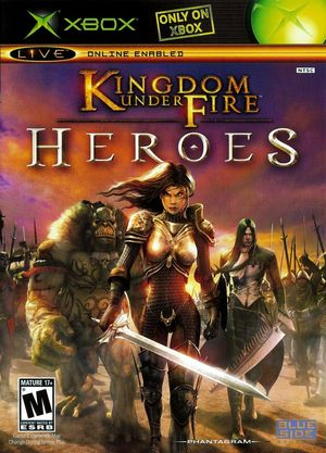 Cover for Kingdom Under Fire: Heroes.
