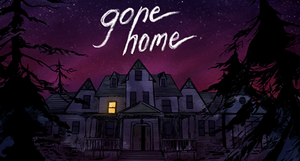 Cover for Gone Home.