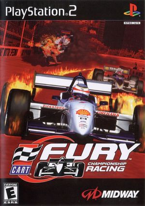 Cover for CART Fury.