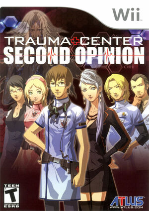Cover for Trauma Center: Second Opinion.