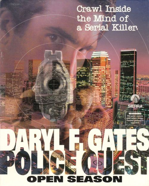 Cover for Police Quest: Open Season.