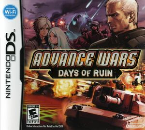 Cover for Advance Wars: Days of Ruin.