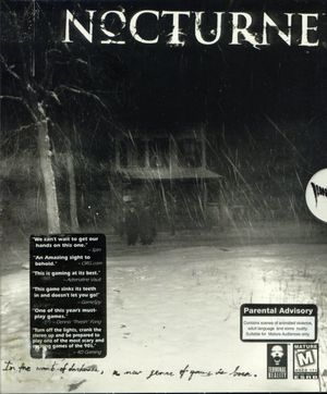 Cover for Nocturne.