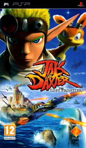 Cover for Jak and Daxter: The Lost Frontier.