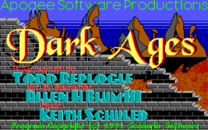 Cover for Dark Ages.