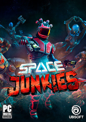 Cover for Space Junkies.