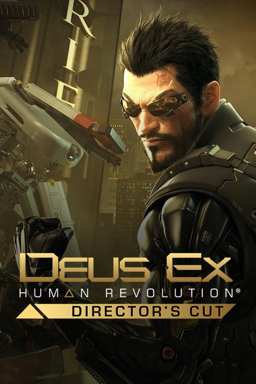Cover for Deus Ex: Human Revolution - Director's Cut.