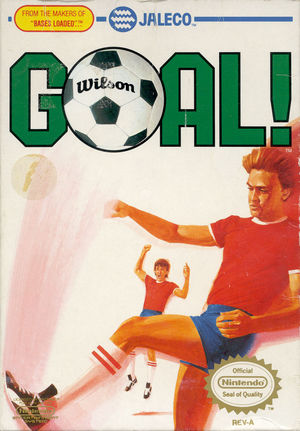 Cover for Goal!.