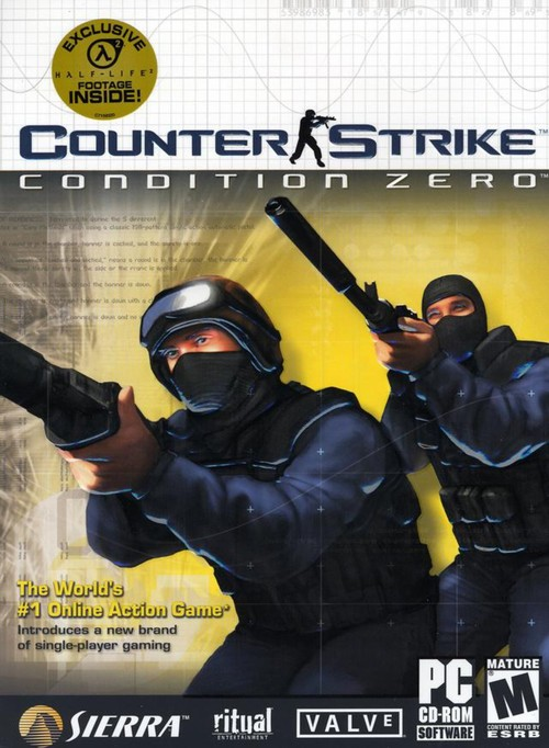 Cover for Counter-Strike: Condition Zero.