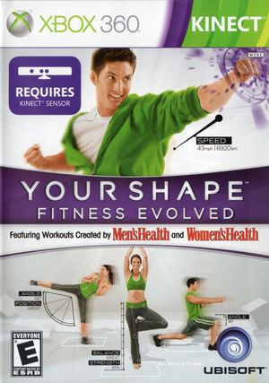 Cover for Your Shape: Fitness Evolved.