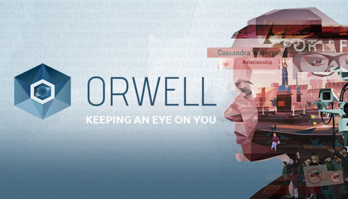 Cover for Orwell.