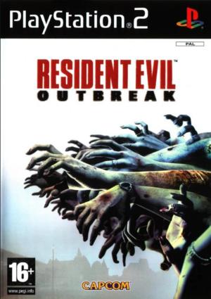 Cover for Resident Evil Outbreak.