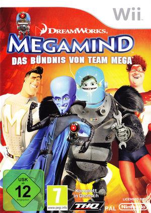 Cover for Megamind: Mega Team Unite.