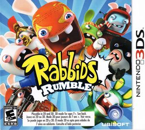 Cover for Rabbids Rumble.