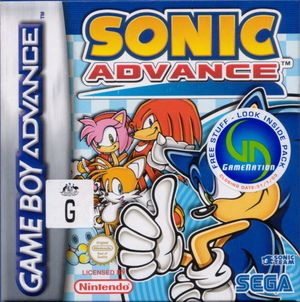 Cover for Sonic Advance.