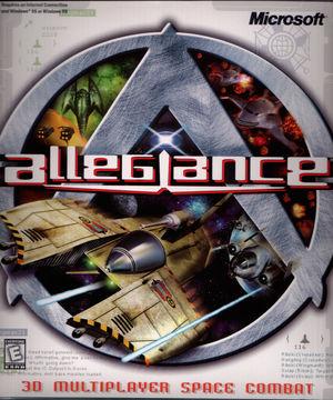 Cover for Allegiance.