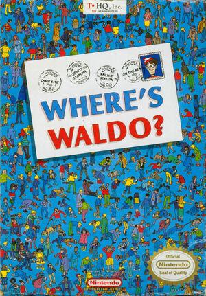 Cover for Where's Waldo?.