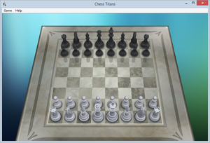 Cover for Chess Titans.