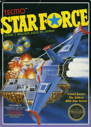Cover for Star Force.