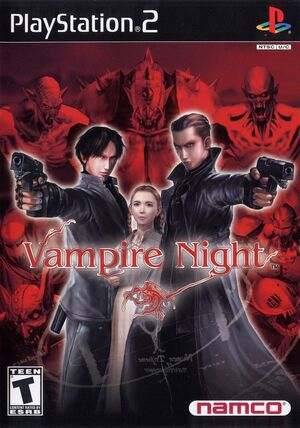 Cover for Vampire Night.