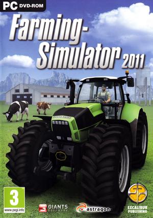 Cover for Farming Simulator 2011.
