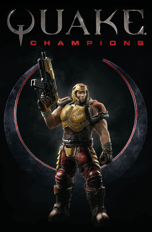 Cover for Quake Champions.