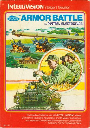 Cover for Armor Battle.