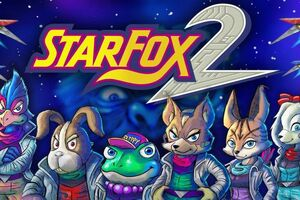 Cover for Star Fox 2.