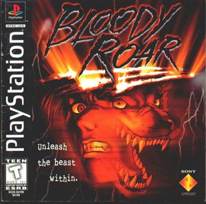 Cover for Bloody Roar.