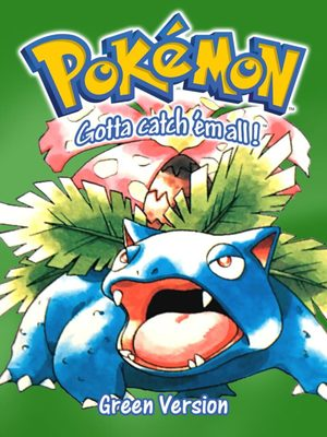 Cover for Pokémon Green.