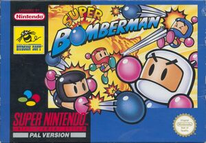 Cover for Super Bomberman.